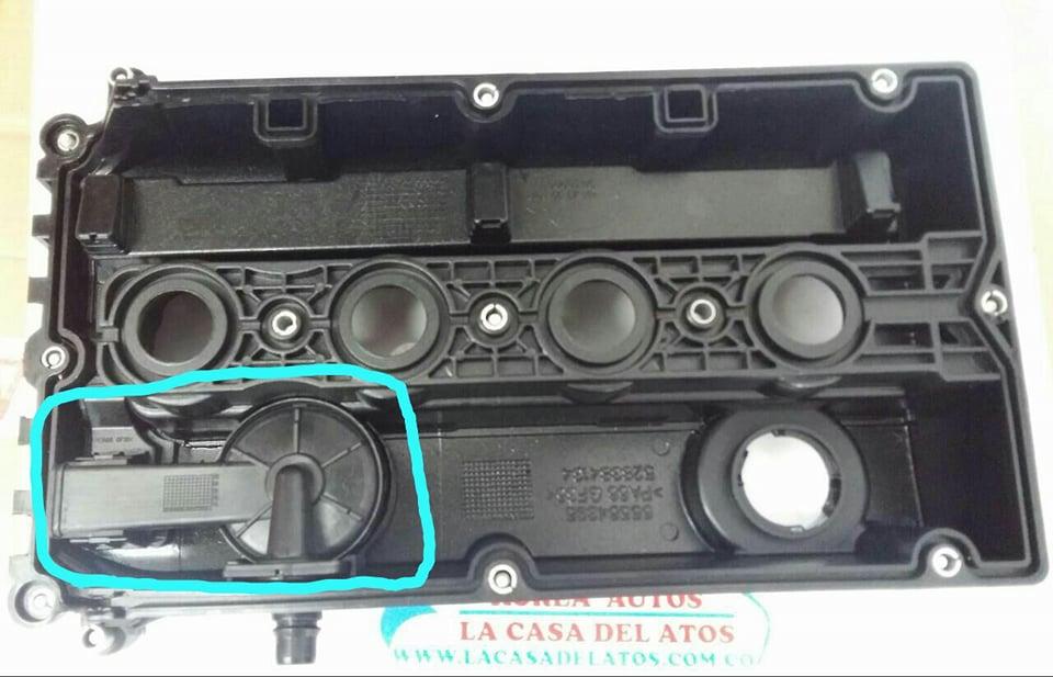 VALVULA PCV CHEVROLET TRACKER - Korea Autos - La Casa Del Atos -  Villavicencio Almacen de repuestos originales