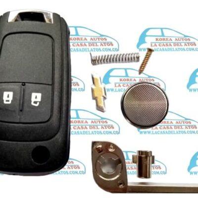 Llave completa con controlador y modulo Chevrolet Sonic Tracker Cruze Cobalt