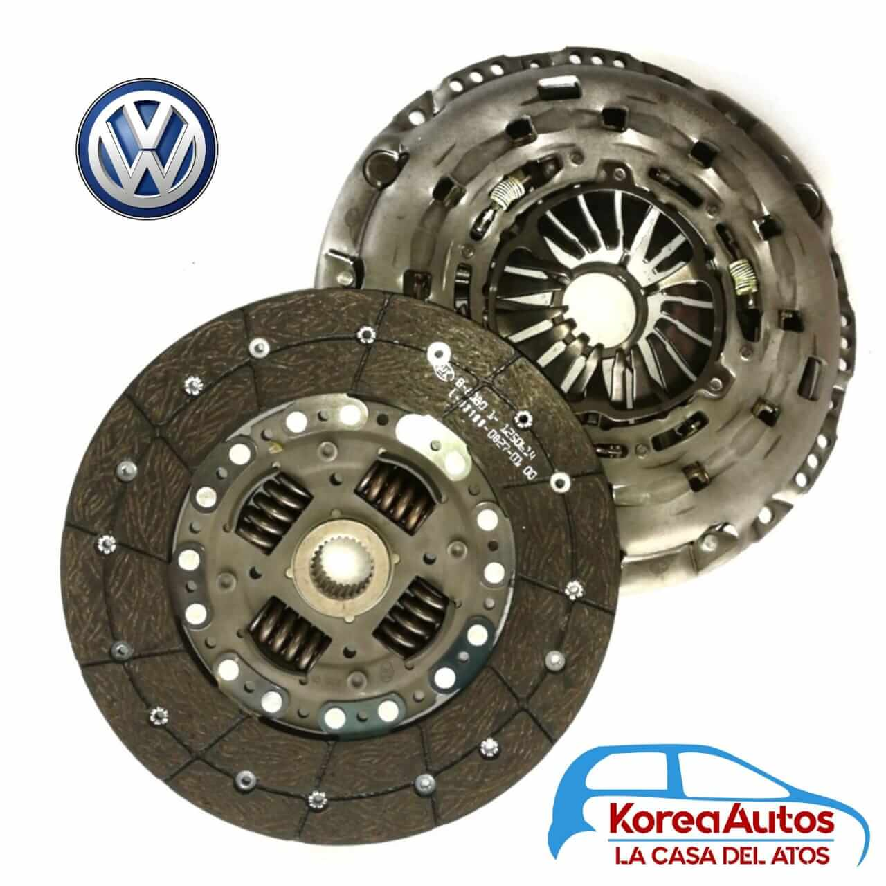 Kit de clutch / embrague Volkswagen Crafter 50 pacha doble