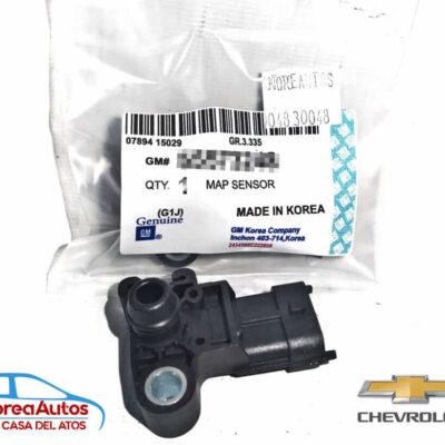 Sensor Map Chevrolet Sonic Tracker Cruze