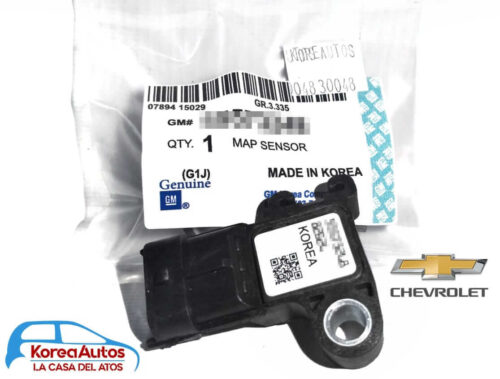 Sensor Map Chevrolet Sonic Tracker Cruze