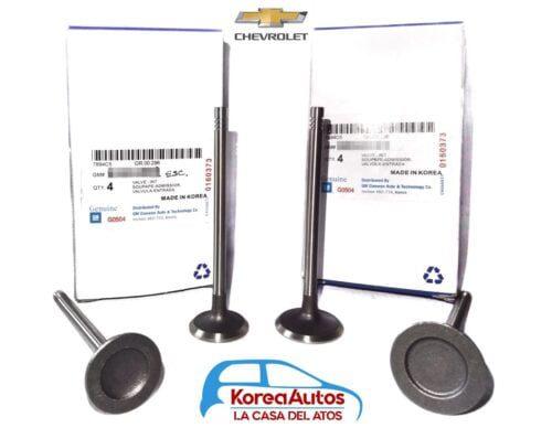Juego de valvulas Chevrolet Optra Lt 1.8 ORIGINAL (Desing)