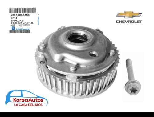 Piñon decalador eje de levas Disponible Chevrolet Sonic tracker cruze Original Nuevo Importado por ATC ENVÍO GRATIS Piñon decalador arbol de levas