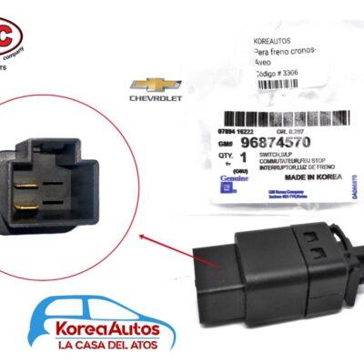 Pera de freno conector de dos pines Chevrolet Spark Cronos Aveo ATC