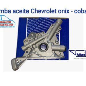 bomba aceiete onix cobalt