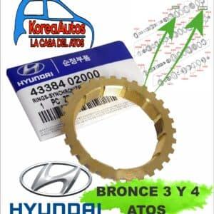 bronce o sincronizador 3 y 4