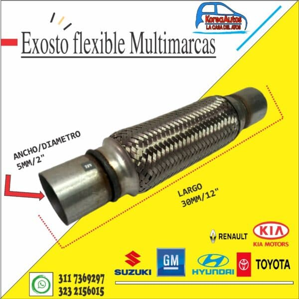 exosto flexible 3