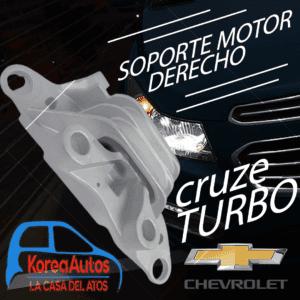 soporte motor derecho cruze turbo