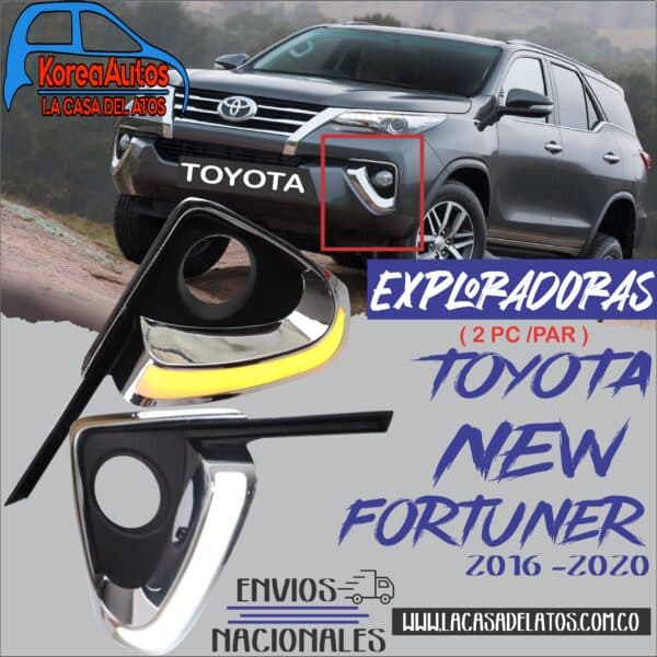 EXPLORADORAS LED TOYOTA NEW SPORTAGE 2016-2020