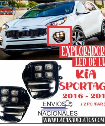 Exploradoras Kia Sportage Modelo 2016 – 2018