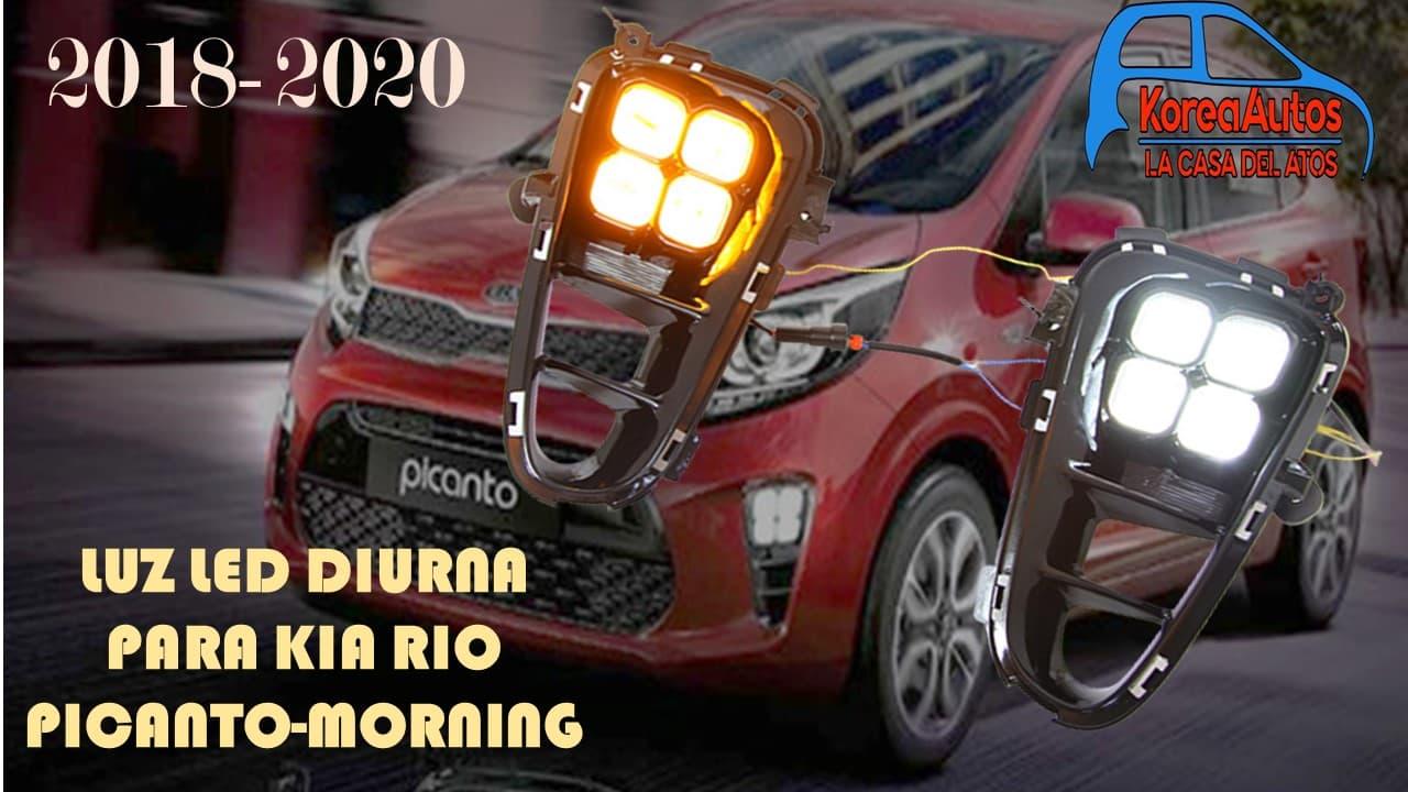 LUZ LED DIURNA PARA KIA RIO PICANTO-MORNING 2018-2020