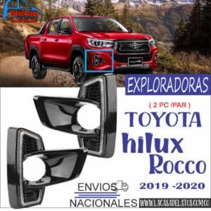 EXPLORADORAS HILUX ROCCO