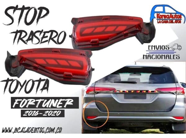 stop trasero led Toyota Fortuner 2016-2020