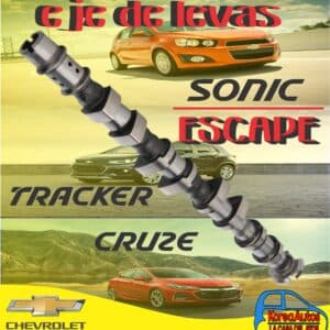 EJE DE LEVAS ESCAPE SONIC TRACKER CRUZE