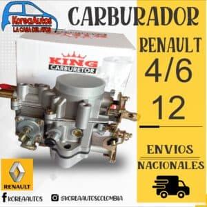 CARBURADOR RENUALT 12