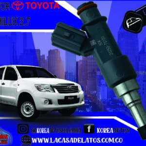 INYECTOR TOYOTA HILUX